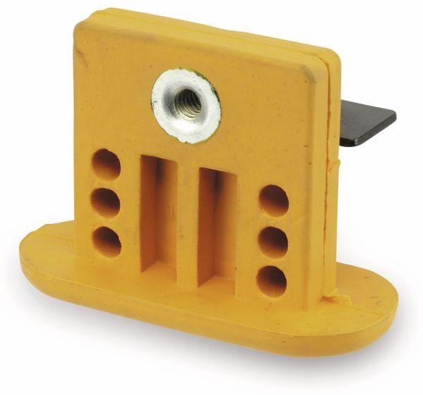 Schwingungsdämpfer, gelb, 1 Stück - Produktbild 2