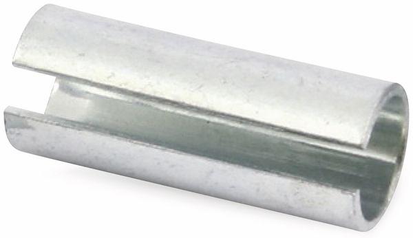 Spannhülsen aus Federstahl, 8 mm, 25 Stück