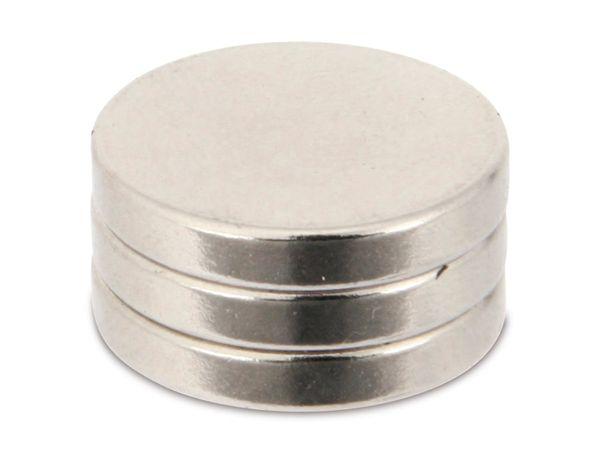 Neodymium-Magnet, 3er-Pack