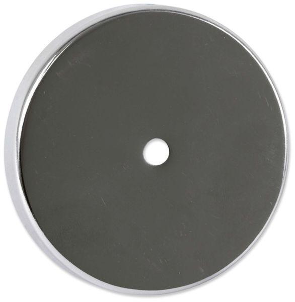 Magnet mit Bohrung, 82x12 mm