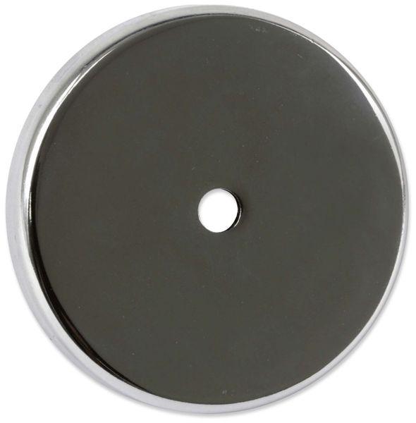 Magnet mit Bohrung, 67x9,5 mm