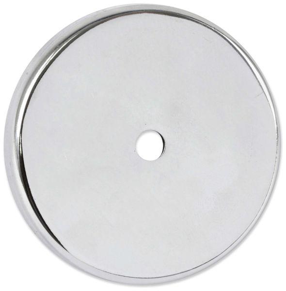 Magnet mit Bohrung, 67x9,5 mm - Produktbild 2