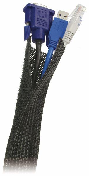 Kabelschlauch mit Klettverschluss, 1,8 m - Produktbild 2