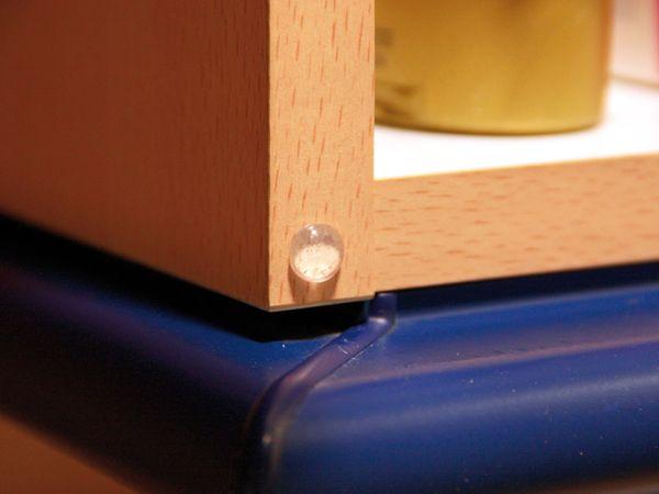 Gummi-Gerätefüße, 3 Größen, 46-teilig - Produktbild 3