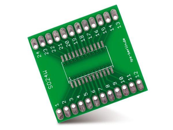 IC-Adapterplatine, SO24W/SO24X