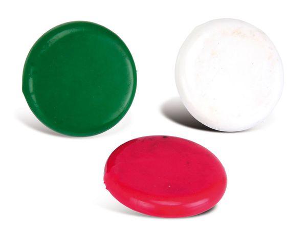Magnet mit Gummioberfläche, 70 mm