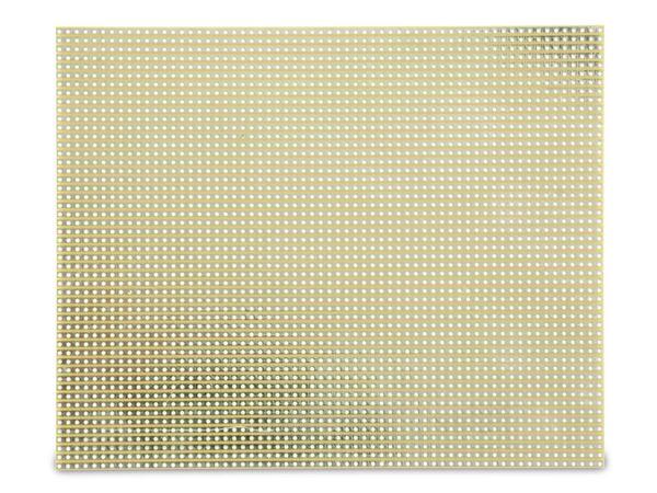 Streifenrasterplatine, 160x130 mm, FR4