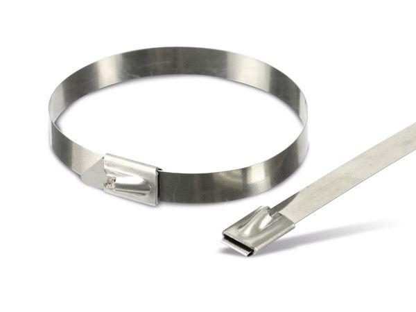 Edelstahl-Kabelbinder DAYTOOLS EK7.9X200, 10 Stück