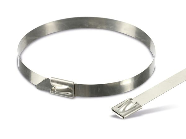 Edelstahl-Kabelbinder DAYTOOLS EK7.9X250, 10 Stück