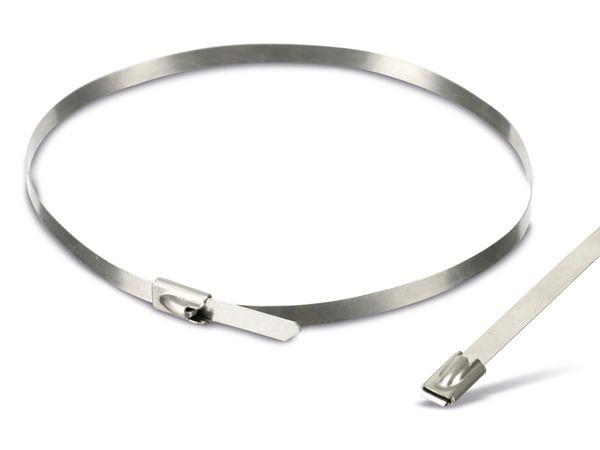 Edelstahl-Kabelbinder DAYTOOLS EK7.9X300, 10 Stück