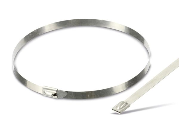 Edelstahl-Kabelbinder DAYTOOLS EK7.9X400, 10 Stück