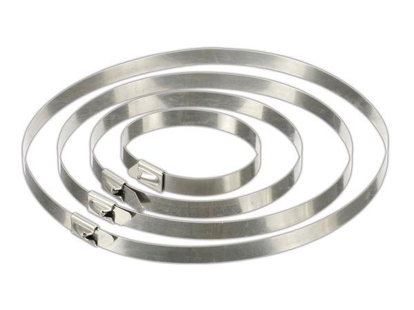 Edelstahl-Kabelbinder DAYTOOLS EK7.9X500, 10 Stück - Produktbild 1