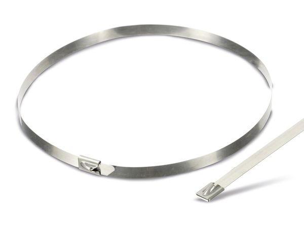 Edelstahl-Kabelbinder DAYTOOLS EK7.9X500, 10 Stück - Produktbild 2