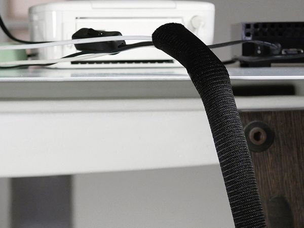 Kabel-Schlauch LTC CABLE TUBE, 2m, schwarz - Produktbild 7