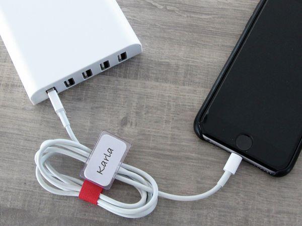 Klett-Kabelbinder LTC MINI, verschiedene Farben, 10 Stück - Produktbild 7