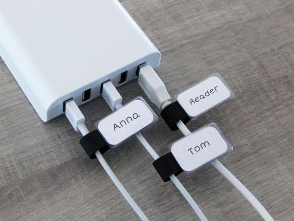 Klett-Kabelbinder LTC MINI TAGS, 10 Stück, schwarz - Produktbild 5