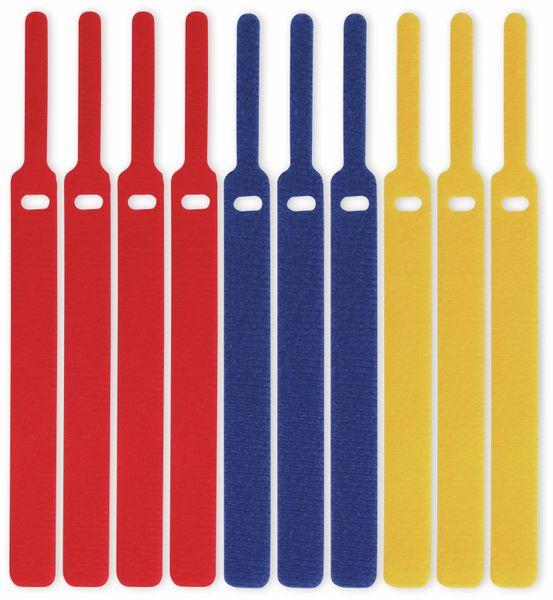 Klett-Kabelbinder LTC BASIC, verschiedene Farben, 10 Stück - Produktbild 3