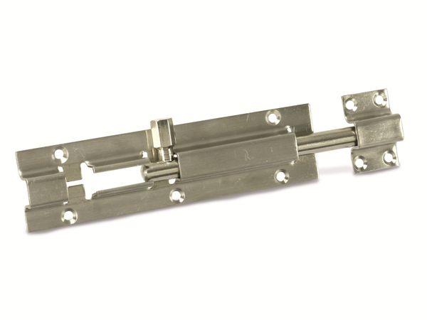 Edelstahl-Riegel, Nirosta, 100 mm - Produktbild 1
