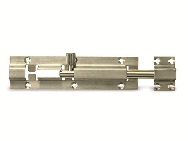 Edelstahl-Riegel, Nirosta, 100 mm - Produktbild 2