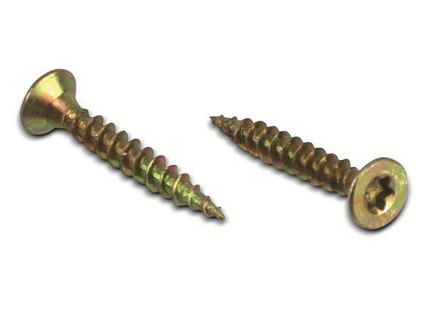 Spanplattenschrauben, 20x3,0 mm, 100 Stück