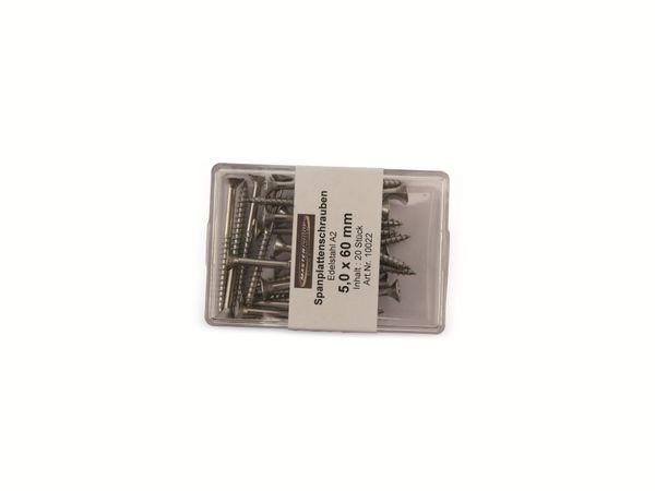 Spanplattenschrauben, 60x5,0 mm, 20 Stück