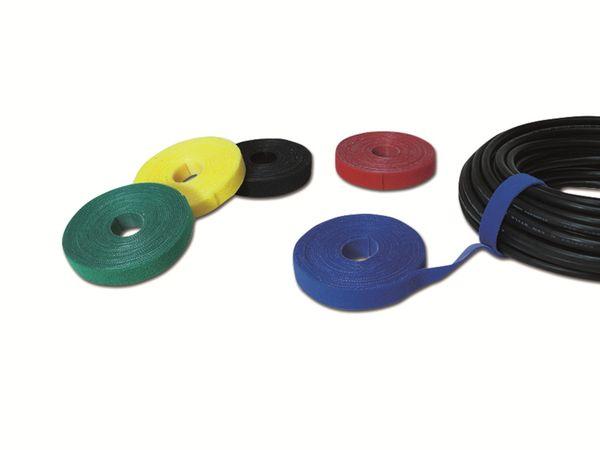 Klett-Kabelbinder LOGILINK KAB0050, 4000x16mm, schwarz - Produktbild 5