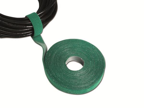 Klett-Kabelbinder LOGILINK KAB0054, 4000x16mm, grün - Produktbild 2