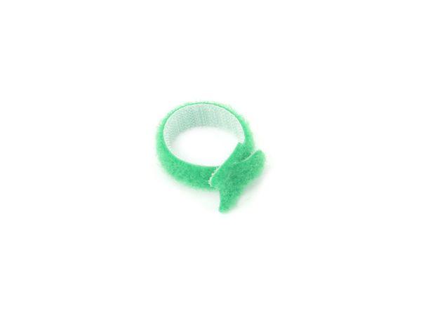 Kabelbinder, DAYTOOLS, 125x12 mm, Klettverschluss, grün, 10 Stück - Produktbild 3