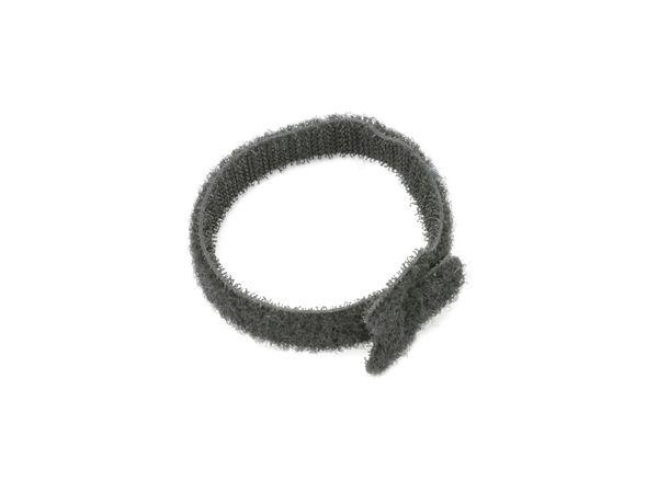 Kabelbinder, DAYTOOLS, 180x12 mm, Klettverschluss, schwarz, 10 Stück - Produktbild 3