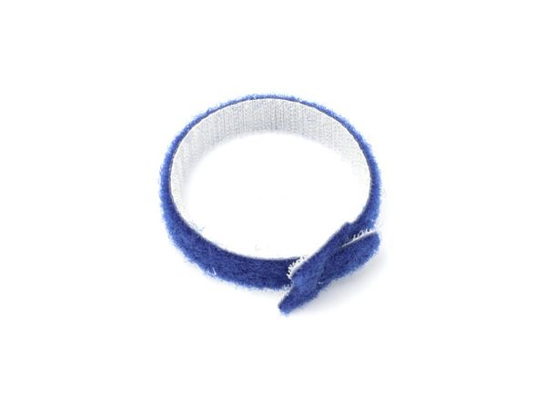 Kabelbinder, DAYTOOLS, 180x12 mm, Klettverschluss, blau, 10 Stück - Produktbild 3