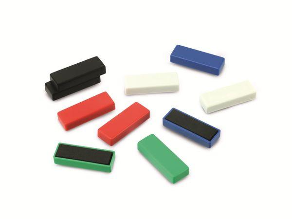 Magnet NICEDAY, farblich sortiert, 10 Stück