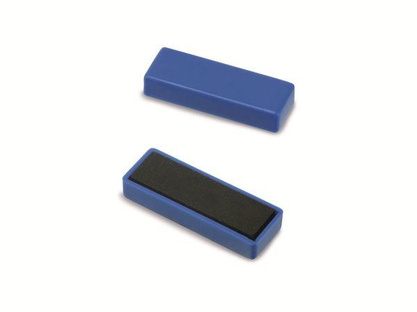 Magnet NICEDAY, blau, 10 Stück