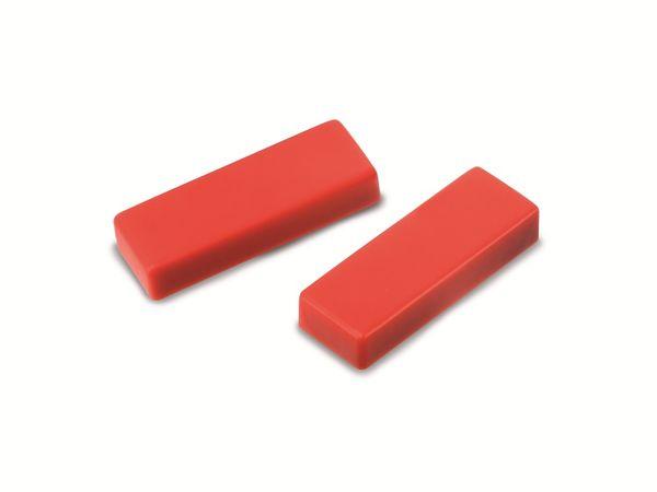 Magnet NICEDAY, rot, 10 Stück