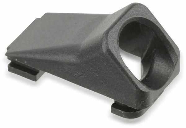 Kabeldurchführung, schwarz - Produktbild 1