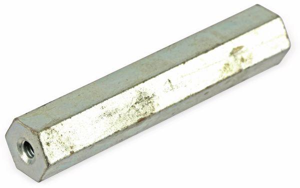 Distanzbolzen, M4 (IG/IG), 60 mm, SW 11 - Produktbild 1