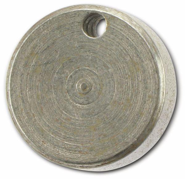 Unwuchtscheiben für 2 mm Motorachsen, 14 mm, 10 Stück