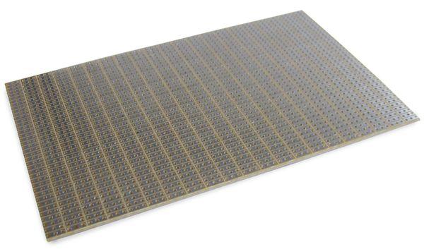 Experimentierplatine mit 3er Streifenraster, FR2, 160x100 mm