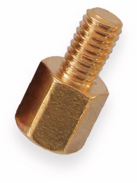 Abstandsbolzen, sechskant, Innen- Außengewinde M3, 5 mm