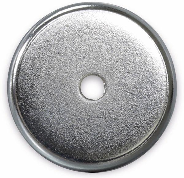 Magnet mit Bohrung, Ø 36x7,2 mm