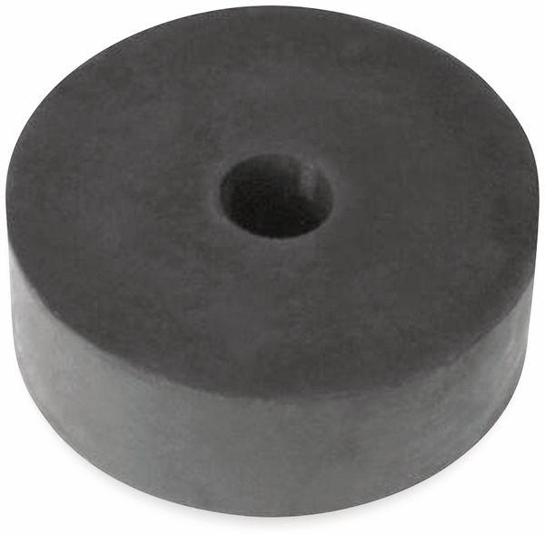 Gummiunterlage rund Ø 80 mm, Höhe 30 mm