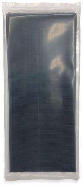 Klettband zum Aufkleben, FASTECH, Hotmelt Haftteil (L x B) 500 mm x 100 mm Schwarz 1 St.