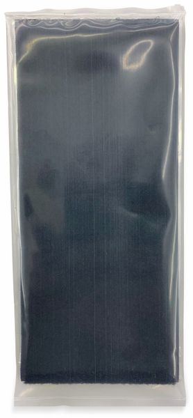 Klettband zum Aufkleben, FASTECH, Hotmelt Flauschteil (L x B) 500 mm x 100 mm Schwarz 1 St.