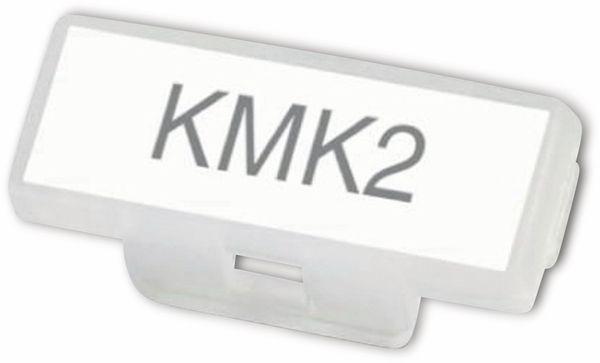 Phoenix Contact, Kunststoff-Kabelmarker, 1005266, KMK 2