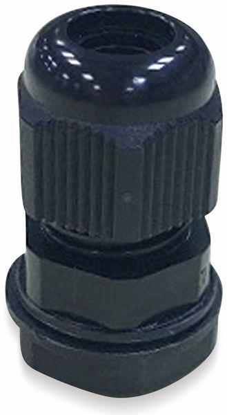 Kabelverschraubung, KSS, M32, schwarz, 18 bis 25