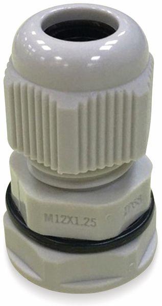 Kabelverschraubung, KSS, M50, Lichtgrau, 30 bis 38