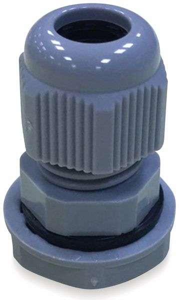 Kabelverschraubung, KSS, PG-11, Silber-Grau, 10 bis 14
