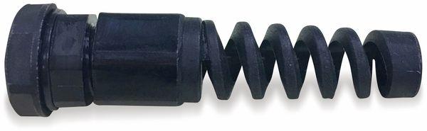 Kabelverschraubung, KSS, M16, schwarz, 5 bis 10