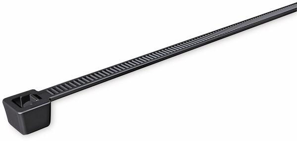 Kabelbinder innenverzahnt, HellermannTyton, 111-05060, 210x4,7 T80R W Schwarz 100 ST