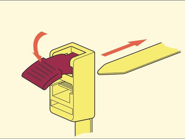 Kabelbinder lösbar, HellermannTyton, 115-00001, 752x13,0 SpeedyTie® 5 ST - Produktbild 3