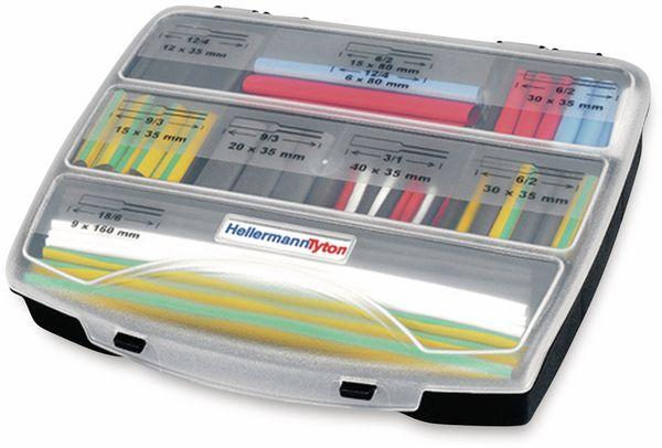 Warmschrumpfschlauch-Set, HellermannTyton, 380-03005, 3:1 Shrinkit 321 Basic Mix